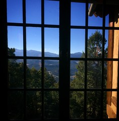 A room with a hellavu view inside and out #bearmountain #evergreen