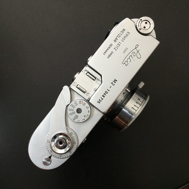 Leica M2 Leitz factory upgrade new topplate and rangefinder M4 frameline 35/135 50 90