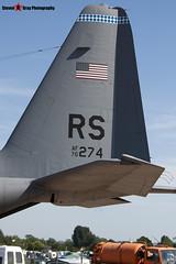 70-1274 - 382-4429 - USAF - Lockheed Martin C-130E Hercules L-382 - Fairford RIAT 2006 - Steven Gray - CRW_1866