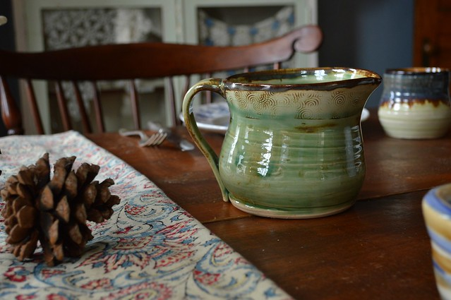 Gravy Pitcher Pottery