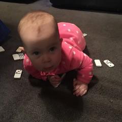child, hand, infant, crawling, finger, skin, play, limb, human body, person, pink, toddler, organ,