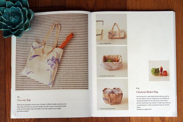 Handmade Bags in Natural Fabrics by Emiko Takahashi