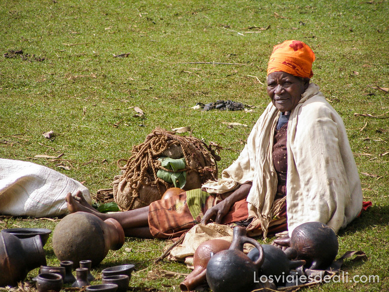 mercado de la tribu Dorze