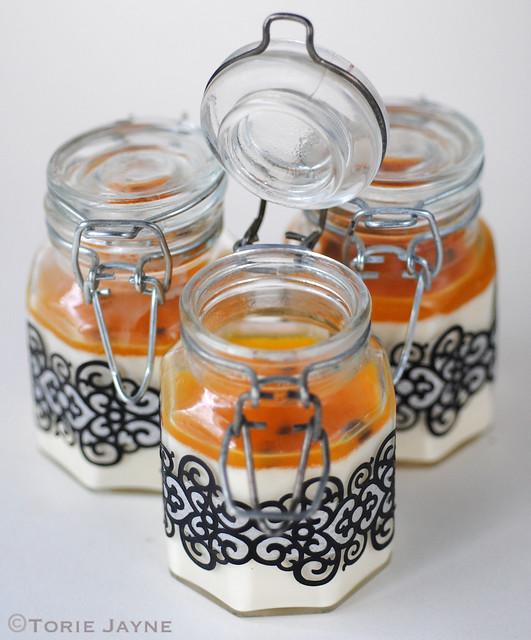 Passion fruit panna cotta recipe