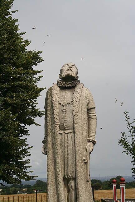Estatua de Tycho. © Paco Bellido, 2007