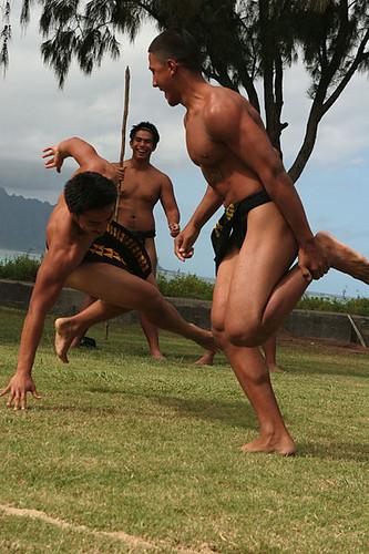 Makahiki Games courtesy of Wikimedia Commons