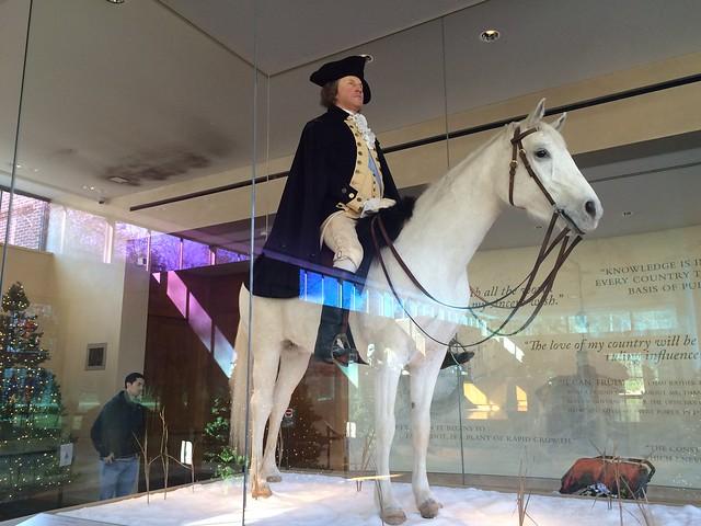 George Washington display, Mount Vernon