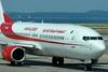 """Air Algérie 7T-VKB Boeing 737-8D6 WL """"Monts de l'Assekhrem"""" @ Marseille Provence Airport 01-06-2014"""