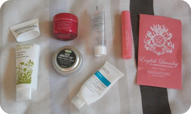 Six Mini Beauty Reviews #10 Clarins Lush Urban Veda Avene