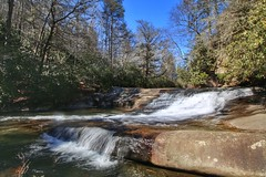 Rooster Tail Falls on North Fork French Broad River