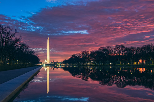 red sky reflection clouds sunrise dawn washingtondc nikon flickr ngc nationalmall redsky washingtonmonument reflectingpool flickrtoday washingtondcsunrise dcsunrise