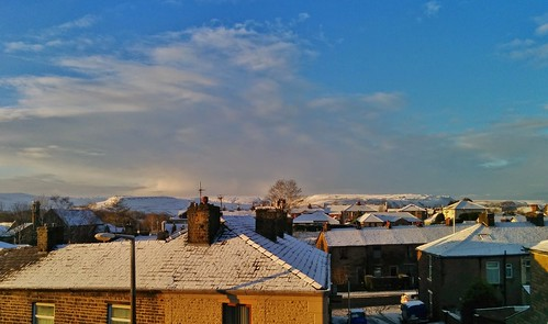 Winter in Haslingden, Rossendale, Lancashire, England - December 2014