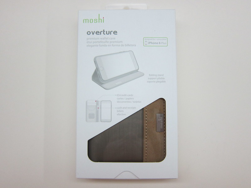 Moshi Overture (iPhone 6 Plus) - Box Front