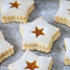 Gluten free Linzer cookies
