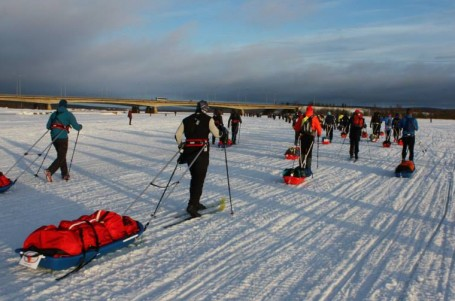 Rovaniemi 150: Třicet hodin na polárním kruhu bez chuti jíst