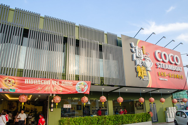 Exterior of Coco Steamboat at Old Klang Road