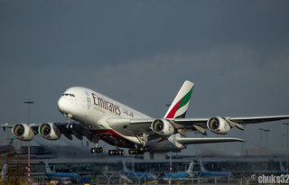 Emirates - A6-EEX - Airbus A380-861