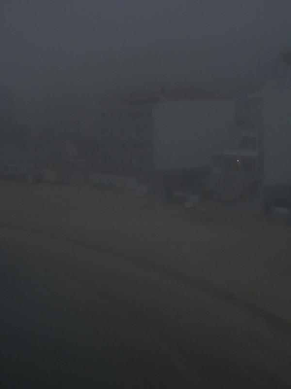 Píxel muerto en la niebla