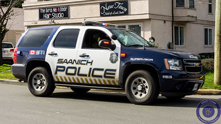 Saanich Police Supervisor Chevy Tahoe (new livery)
