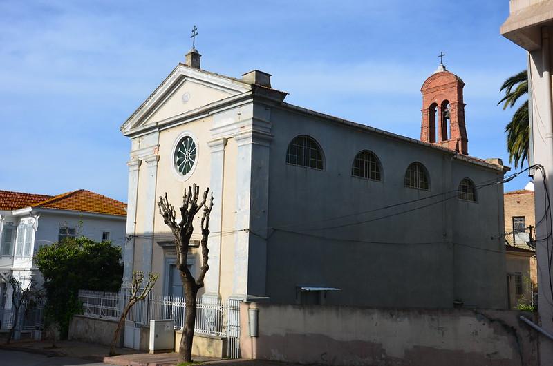 Auf Büyükada eine Kirche