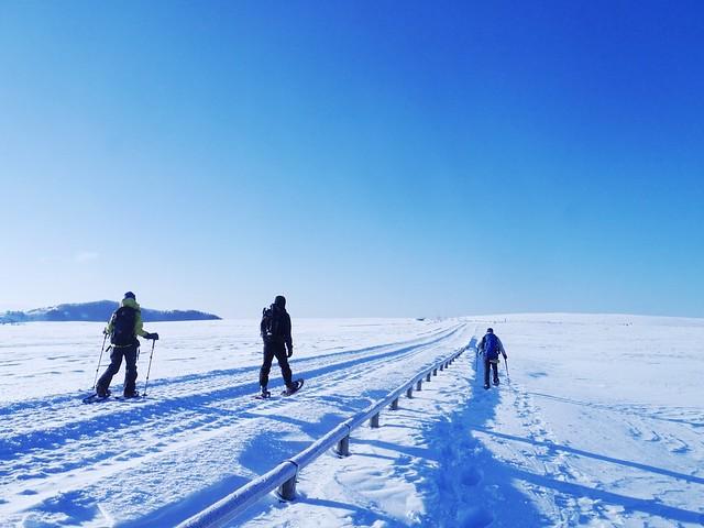 冬の美ヶ原 スノーシューハイク