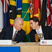 Vice President Biden Chats With Special Envoy Hochstein at the Caribbean Energy Security Summit by U.S. Department of State