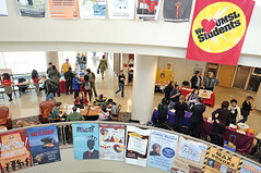 Eye on UMSL:  Student expo:  Jan. 21, 2015