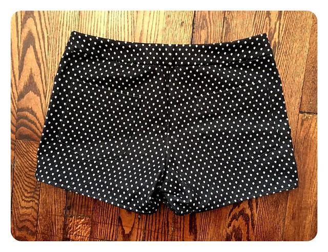 Red Knits_Polka Dot Maritime Shorts