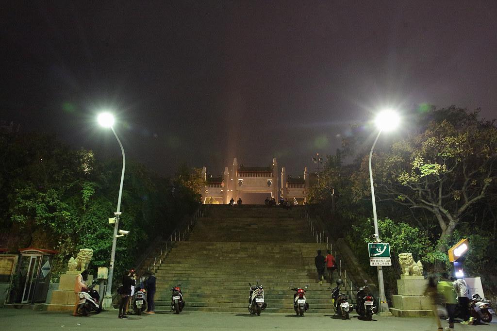 20140204高雄-壽山忠烈祠夜景 (1)