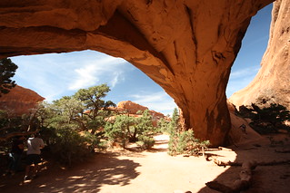 Navajo arch, Arches National Park