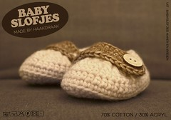 Flyer Baby Booties @ Joyce Crochet