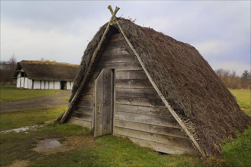 Anglo-Saxon building called a Grubenhaus