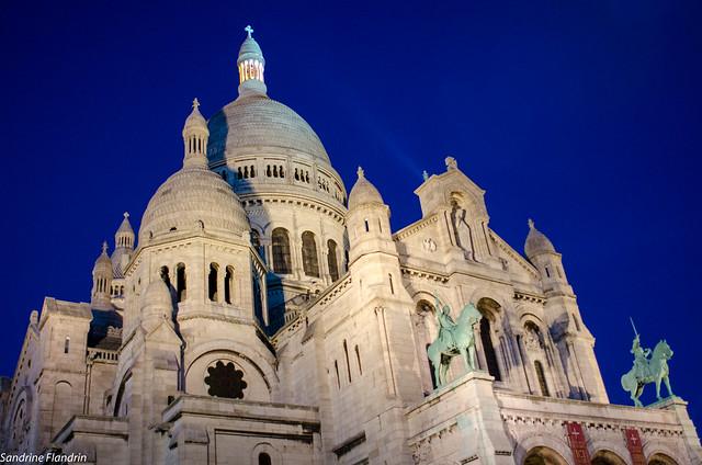 Basilique du Sacré Coeur - butte Montmartre