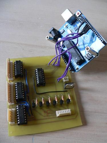 07 controller printplaat  met arduino