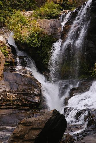 thailand waterfall chiangmai doiinthanon changwatchiangmai tambonbanluang