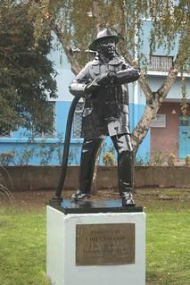 Homenaje a Bomberos en Chillán
