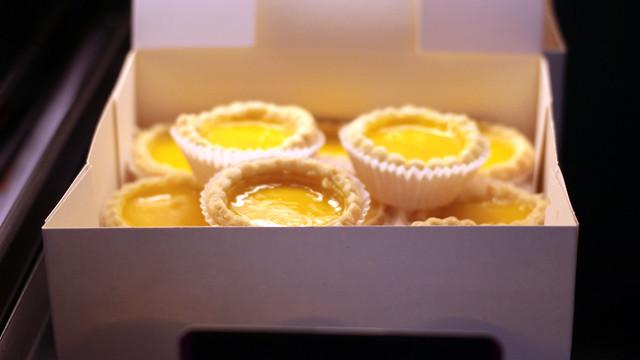 Myu Myu egg tartlets