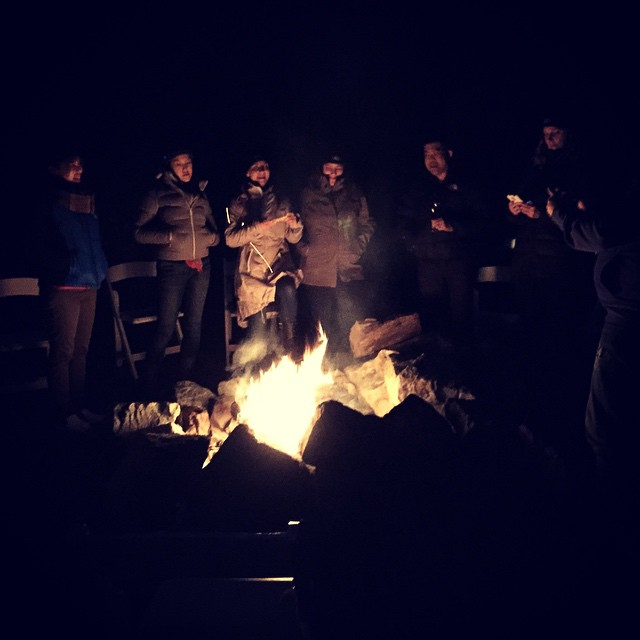 The fire is roaring #FordBacktoBasics