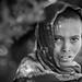 Ethiopie du nord: jeune fille des montagnes du Simien. by claude gourlay