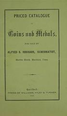Alfred Robinson catalog
