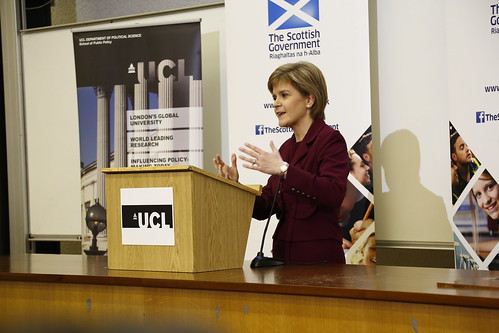 First Minister - An alternative to austerity - speech at UCL