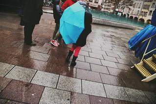 Le parapluie...
