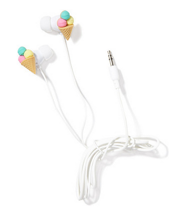 ice cream earbuds