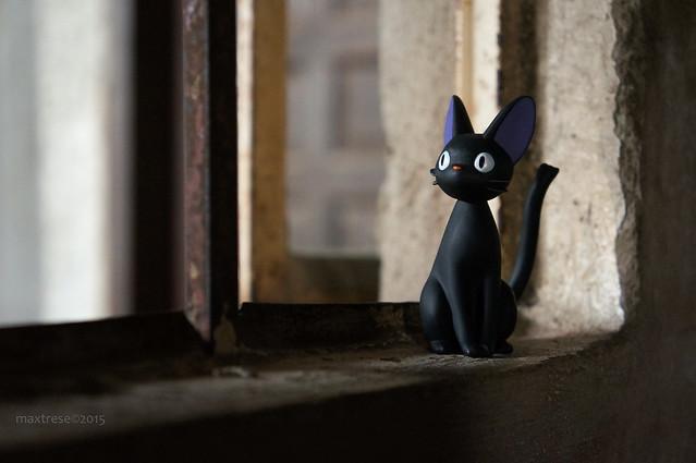 Jiji of Studio Ghibli's Kiki's Delivery Service