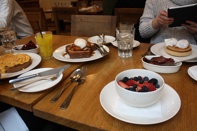 Breakfast at Tom's Kitchen, Chelsea