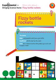 Fizzy bottle rockets Infosheet