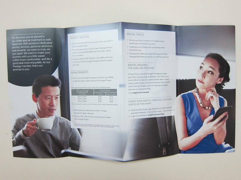 Singtel Prestige (2015) - Brochure