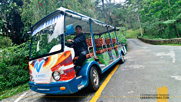 Le Monet Hotel Electric Tram in Baguio City