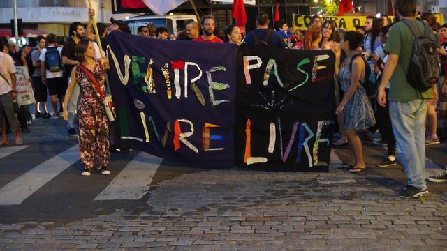 5º ato do Bloco de Luta contra o aumento da tarifa do Transporte Público de Porto Alegre. AÇÃO DIRETA no campo e na cidade! - 11 de março de 2015