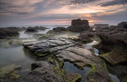 seascape sunrise australia